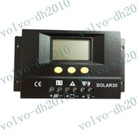 Wholesale Ce Solar Charge Controller - llfa101 Free shipping 30A 12V 24V Solar Controller Regulator Charge Battery Safe Protection CE Certify