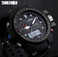 Wholesale Digit Sport Watches - Men Sports Watches Luxury Brand Outdoor Waterproof Fashion Casual Quartz Watch Digit Military Oversized Men's Watch Reloj Hombre