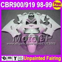 Wholesale honda cbr 919rr fairing - 7gifts Unpainted Full Fairing Kit For HONDA CBR919RR CBR900RR 98-99 CBR 919RR CBR919 919 RR 900RR 98 99 1998 1999 Fairings Bodywork Body