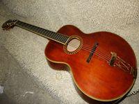 Wholesale Tiger Veneer - Speical Sales Guitar samples manual veneer jazz Guitar Tiger skin maple Wholesale Guitar Form China