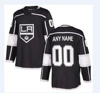 Wholesale Red Wine Stores - 2018 nhl hockey jerseys cheap Los Angeles Kings Black Home Authentic Blank Jersey store usa sports ice hockey blank customized factory kids