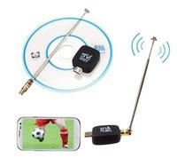 Wholesale Digital Satelite - Wholesale-EZTV DVB-T TV TV Receiver TV Watch Digital Satelite Receiver Adapter For Android Phone Tablet #S0179