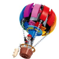 Wholesale Hot Air Balloon Building Block Sets Kids Toys Brinquedos Educational Building Girls Toy Gifts