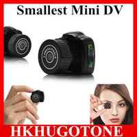 Wholesale Mini Dv Sales - Hot Sale Y2000 Mini HD Video Camera Small Mini Pocket DV DVR Camcorder Recorder Spy Hidden Web spy Cameras