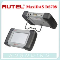 2015 Professional Auto Scanner Autel MaxiDas DS708 Support Mise à jour gratuite Autel site officiel avec Multi Language