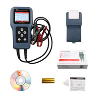 Wholesale Tester Printer - free shipping auto digital battery system tester MST8000+high accuracy for 12V&24V with color LED display & printer-- multi language