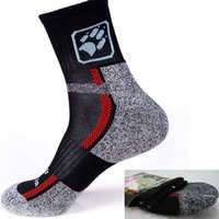 Wholesale 3 Pair Winter Keep Warming Hiking Socks Men s Running Cycling Socks Thicken Breathable Outdoor Sports MTB Bike Crew Sock