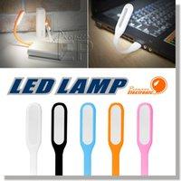 tablette portable ajustable achat en gros de-Xiaomi USB LED Lampe avec bras ajustable, Gadgets USB pour tablette PC et lumières LED pour Power Bank Computer Laptop Night LED éclairage -5v 1.2W