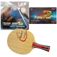 Wholesale Table Tennis Blade 729 - Galaxy Earth.3 blade with RITC 729-08  New 729-2 Rubbers for a table tennis (PingPong) racket