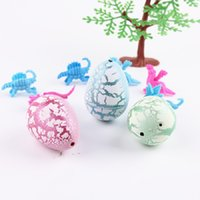 Wholesale Colorful Watercolor - Novel Water Hatching Inflation Colorful Dinosaur Egg Grow Educational Toys Interesting Gift Watercolor Egg Creative Toy for Unisex kid