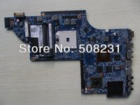 Wholesale Motherboard For Hp Dv7 Amd - Wholesale-Wholesale 666520-001 for HP DV7 DV7-6000 laptop Motherboard A70M HD6750 1G,100% Tested and guaranteed in good working condition!