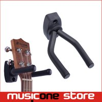 soporte de pantalla para montaje en pared al por mayor-Guitar Violin Stand Hanger Hook Holder Montaje de pared Display Ancho ajustable para todos los tamaños de guitarra incluyendo anclajes y tornillos MU0303