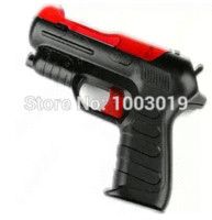 Wholesale Move Shooting - Wholesale New Light Shooting Gun Shell Pistol For Sony PS3 Playstation Move Controller Game light blue shorts for men