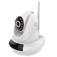 Wholesale Ccd Ip Ir - New Design 720P Wireless WIFI 350 Degree Rotating camera CCTV Network Phone Connect Cloud IP Camera IR 10M FI-366