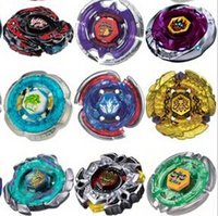Wholesale Beyblade Metal Fusion Pack - 31 Style Beyblade Metal Fusion 4D System LOOSE Battle Top Masters Kits Metal Fury Pack FREE SHIPPING WHOLESALE