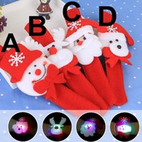 Pats Led for sale - Christmas Decorations New-Style LED Pat Circle Santa Claus Snowman Bear Deer Bracelet Toy XMAS Ornaments Children Bracelet