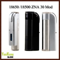 T5 Mod Kaufen -ZNA 30 Mod Klon LCD Display ZNA30 Mechanische Mod Variable Wattage 18650 18500 Mod VS DNA 30 Cloupor T5 für Aerotank Turbo Mega