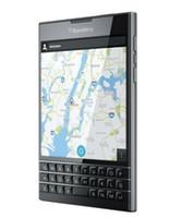 Wholesale bluetooth accessories resale online - Original BlackBerry Passport Q30 inch BlackBerry OS Mobile Phone MP WCDMA GSM Network Bluetooth WIFI