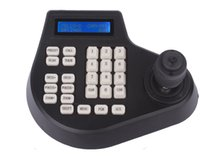 speed dimensions - 4 Axis Dimension PTZ joystick cctv keyboard controller for ptz Speed Dome Camera
