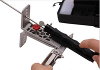 Wholesale Hot Sale Sharpener - 2015 hot sale Professional Portable Fix-angle Apex Edge Knife Sharpener Set 5pcs Sharpening Stones Grinding free shipping