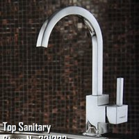 Wholesale Vanity Sinks Bowls Faucets - Vanity style Full brass single handle kitchen Sink & basin Faucet with chrome Polished tap 80905