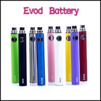 Wholesale Ce5 E Cig Free Shipping - Colorful EVOD Battery 650mah 900mah 1100mah E-cigarette Battery for MT3 CE4 CE5 CE6 E cig Kit Instock DHL free shipping