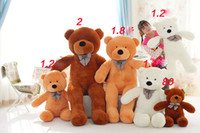 Wholesale Huge Stuffed Bear Valentines Day - Stuffed Toys Giant Teddy Bear Soft Plush Toy Giant Plush Toys New Arriving Giant Teddy Bear Plush Huge Soft Toy Plush Toy Valentine Day