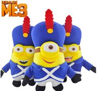 A banda servido Despicable Me3 brinquedos de pelúcia, Minions Minions 23cm brinquedo de pelúcia Stuffed Animal 3D Plush Doll 2015 new hot