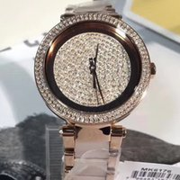 2018 New Fashion da donna Parker 100m bicolore in acciaio inossidabile quadrante in cristallo orologio 6176