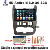 Wholesale Free Link Building - HD 1024*600 10.2 inch Android 6.0 car dvd player For Renault Logan Sandero Duster with GPS 3G 4G WIFI Radio BT Mirror link SWC DAB+ free map