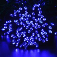 Wholesale Cheapest Solar Christmas Lights - Wholesale-Cheapest 200 Leds Solar Lamp String Solar Pannel Christmas Light Christmas Ornament LED String Decoration lamps Freeshipping