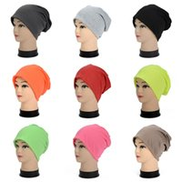 Wholesale Wholesale Blank Women Beanies - Polyester Fiber Adults Hats Winter Spring Sports Beanies Blank Casual Hip Hop Knit Cap Universal For Men And Women 3 8bd B