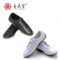 Wholesale Kung Fu Shoes Free Shipping - Wholesale-YWT55 tai chi shoes men and women wu shu shoes sportswear martial arts shoes kung fu sneakers free shipping