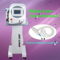 Wholesale Designing Tattoo Machines - New design q switched nd yag laser tattoo removal machine salon equipment for spa DHL free shipping