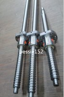 Wholesale Slide Cnc - 3 sets Anti backlash ballscrew RM1605-250 650 1000mm Ball Screws- C7 & 3 ballnuts +end machine CNC