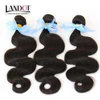 Cambodian Human Hair Weave Bundles 100% Non Transformé 8A cambodgienne vague de corps Cheveux ondulés 3 Pcs Lot Extensions Cheap Natural Hair Couleur Dyeable
