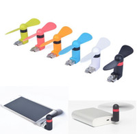 Wholesale China Cheap Android Phone - cheap Android pin8 USB Fan Multi-function Xiaomi 2th Micro USB MINI Portable Fan For Android Smart Phone Laptop Desktop with retail DHL Free