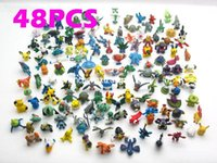 Wholesale Sports Action Figure - NEW Military Figures child toys Cute Lots 48pcs 2-3cm Pokmon mini random Pearl ct Figures Action