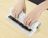 Wholesale Easy Sushi Maker - Sushi Curtain Sushi Rolling mat Diy Tool Roller Easy to clean anti-moisture better than bambool Mat Sushi Maker