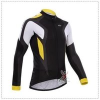 2015 CHEAP Set Autumn / Spring à manches longues en vélo + pantalon de bavette Ciclismo Bicycle Bike Wear cyclisme / Rsc