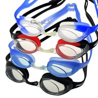 Wholesale Order Uv Glass - Jiejia Adjustable Optical Swimming Goggles Uv Protected Waterproof Anti Fog Glasses Silicone For Swim 0.3-YJ015 order<$15 no tracking