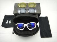 radsport-gläser großhandel-100% NEUE gute Racing Jacke Radfahren Fahrrad Outdoor Sports Sonnenbrille Brillen Goggle Sonnenbrille Männer Frauen 3 farbe objektiv