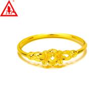 nuevo estilo de vestidos de novia de oro al por mayor-Top Fashion 24K Gold Filled Bangles Fine Jewelry Nuevo Estilo Flores Encantos de lujo Wedding Dressed Party de compromiso Ventas calientes Envío gratuito