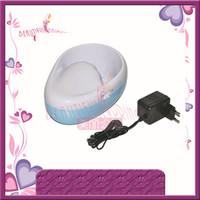 tazón de manicura de uñas al por mayor-Al por mayor- (Envío gratuito) Mini Nail Art Tool Manicure Bowl spa tazón de mano eléctrico con certificado CE