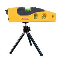 Wholesale Mini Laser Level Tripod - Wholesale-Mini Line Laser Level Marker TD9B 160 degrees Laser Range with Adjustable Tripod 86365