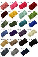 Wholesale Crochet Head Band Women - PrettyBaby Women Head Wrap Ear Warmer Hair Accessories Hair Band Girl Knitted Headband Winter Warm Twist Crochet Headwear free shipping