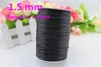 Other black cotton cord roll - Roll Yards mm Black Waxed Cotton Cord Of Environmentally Friendly Materials Cotton String For Jewelry Making