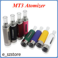 Wholesale Best Quality Ego Cigarettes - High quality best price Electronic Cigarette 2.4ml EVOD Atomizer Bottom Coil EGO Kanger MT3 clearomizer cartomizer replaceable coil