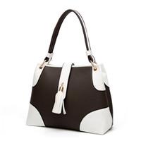 Wholesale Totes Handbags Brand Cheap - luxury brand women handbags 2017 winter cheap price leather bag pu material fashion designer women tote bag