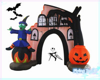 Wholesale 3m Halloween Inflatable Arch for Mall Outdoor Indoor Halloween Decoration